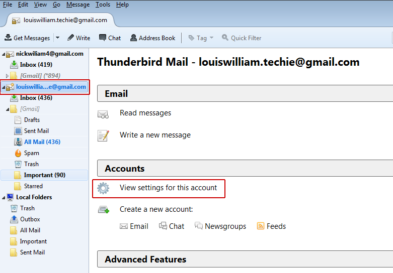 Thunderbird to Zimbra Migration Tool to Export Mail from